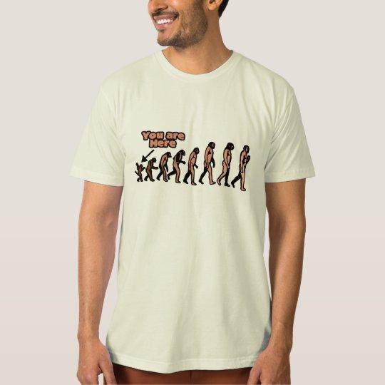 Mean Evolution Parody T-Shirt