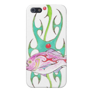 Mean Fish Tribal iPhone Case Piranha iPhone 5 Case