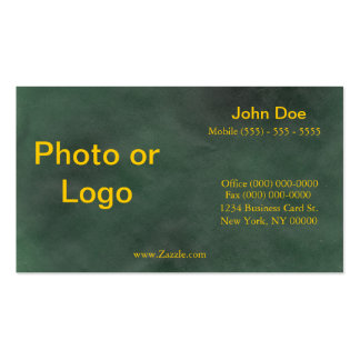Mean Green Business Card