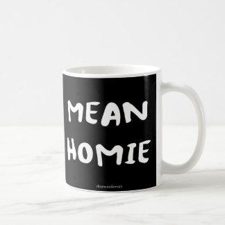 mean homie coffee mug