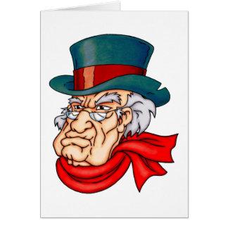 Mean Old Scrooge Card