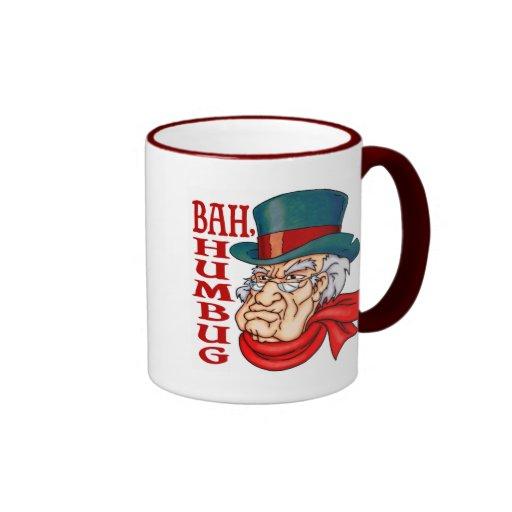 Mean Old Scrooge Mugs