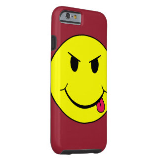 Mean Smiley Face Punk Iphone 6 case Tough iPhone 6 Case