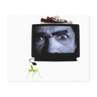 mean tv with mantis canvas prints