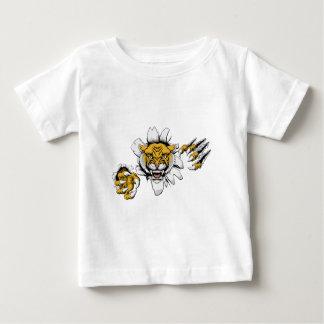 Mean Wildcat Mascot Baby T-Shirt