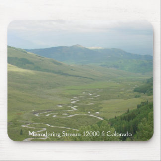 'Meandering Stream' Mouse Pad by Spring Art 2012