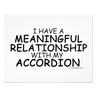 Meaningful Relationship Accordion Invitations