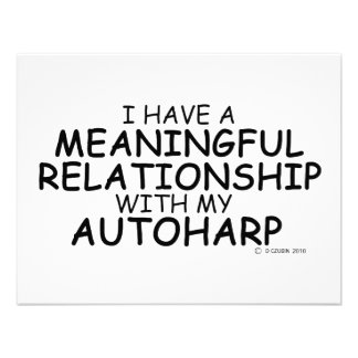 Meaningful Relationship Autoharp Invites