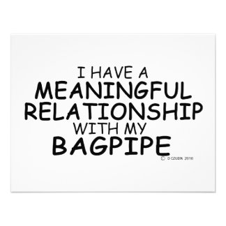 Meaningful Relationship Bagpipe Announcements