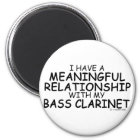 Meaningful Relationship Bass Clarinet Magnet