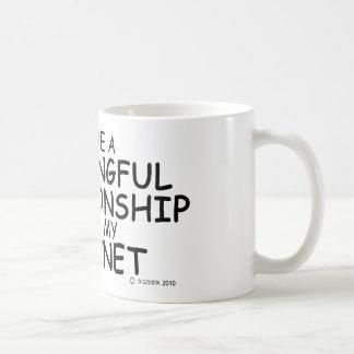 Meaningful Relationship Clarinet Basic White Mug