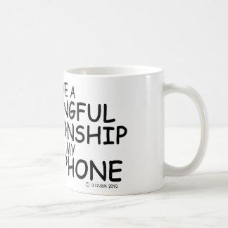 Meaningful Relationship Sousaphone Basic White Mug