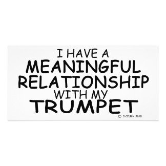 Meaningful Relationship Trumpet Picture Card