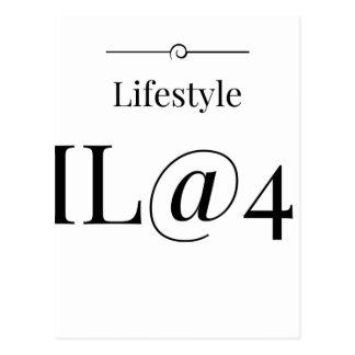 MeaningfulLiving Brand ML@4U Postcard