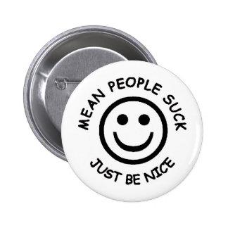 meanppl 6 cm round badge