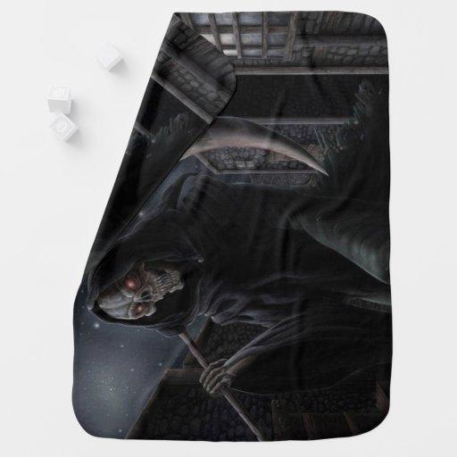 means Grim Reaper Baby Blanket