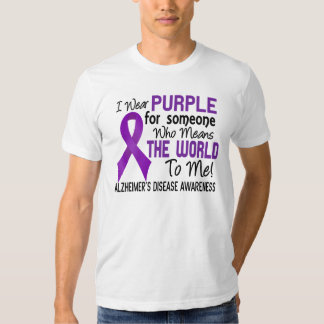 Means The World To Me 2 Alzheimer's Disease Tshirts
