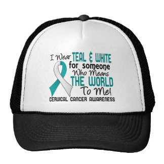 Means The World To Me 2 Cervical Cancer Cap