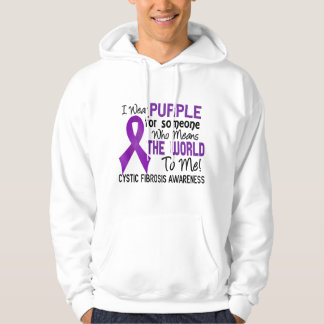 Means The World To Me 2 Cystic Fibrosis Hoodie
