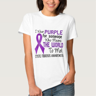 Means The World To Me 2 Cystic Fibrosis Tees