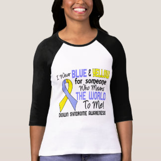Means The World To Me 2 Down Syndrome Tshirt