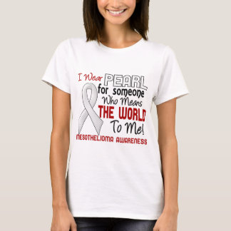 Means The World To Me 2 Mesothelioma T-Shirt