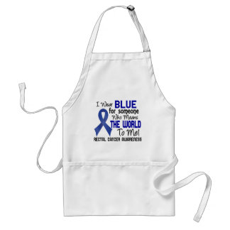 Means The World To Me 2 Rectal Cancer Adult Apron