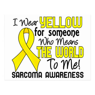 Means The World To Me 2 Sarcoma Postcard