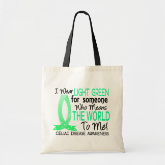 Means The World To Me Celiac Disease Canvas Bags
