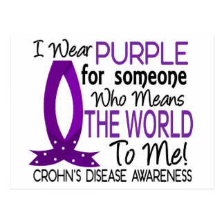 Means The World To Me Crohn's Disease Postcard