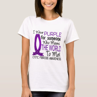 Means The World To Me Cystic Fibrosis T-Shirt