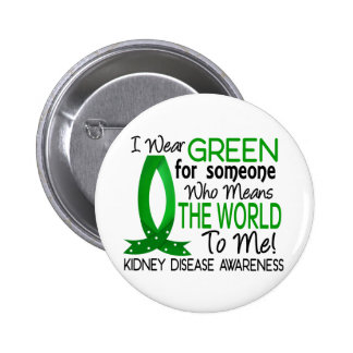 Means The World To Me Kidney Disease 6 Cm Round Badge