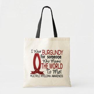 Means The World To Me Multiple Myeloma Budget Tote Bag