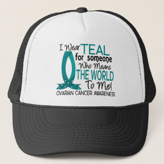 Means The World To Me Ovarian Cancer Trucker Hat