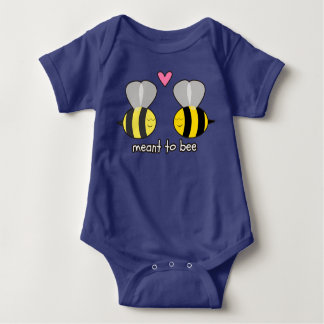Meant to Bee Baby Bodysuit