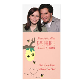Meant To Bee Save The Date Photo Card