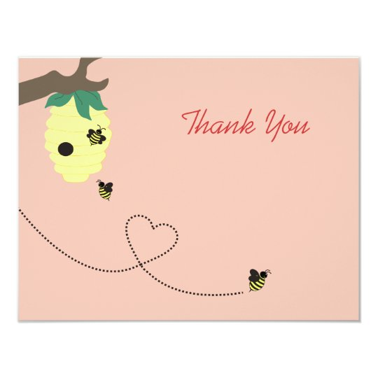 Meant To Bee Thank You Card