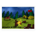 Meanwhile @ Boot Camp Funny Tees Cards Gifts Etc Postcard