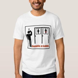 Meanwhile, in Scotland funny Scottish kilt joke Shirts