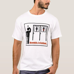 482f5a49 Meanwhile, in Scotland funny Scottish kilt joke T-Shirt