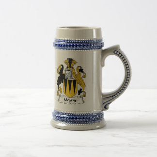 Mearns Coat of Arms Stein - Family Crest Beer Steins