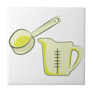 Measuring Cup Small Square Tile