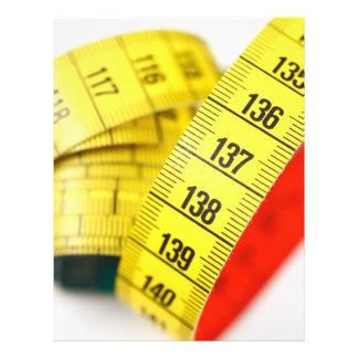 Measuring tape 21.5 cm x 28 cm flyer