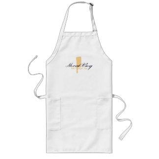 Meat Boy logo long apron