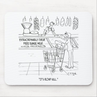 Meat Cartoon 9340 Mouse Pad
