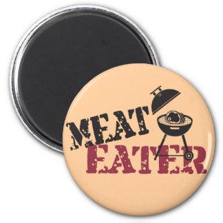 Meat Eater Fridge Magnet