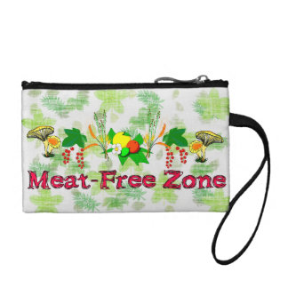 Meat-Free Zone Coin Wallet