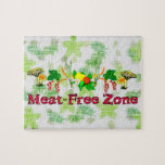 Meat-Free Zone Jigsaw Puzzles