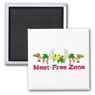 Meat-Free Zone Magnet