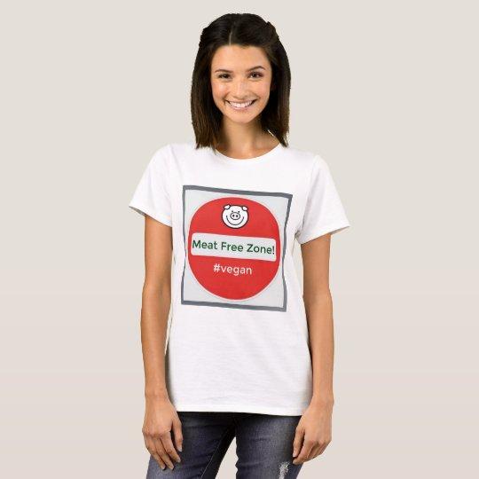 Meat Free Zone! Vegan T Shirt